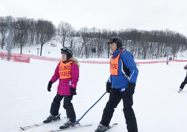 Gina Livingston - Blind Skier