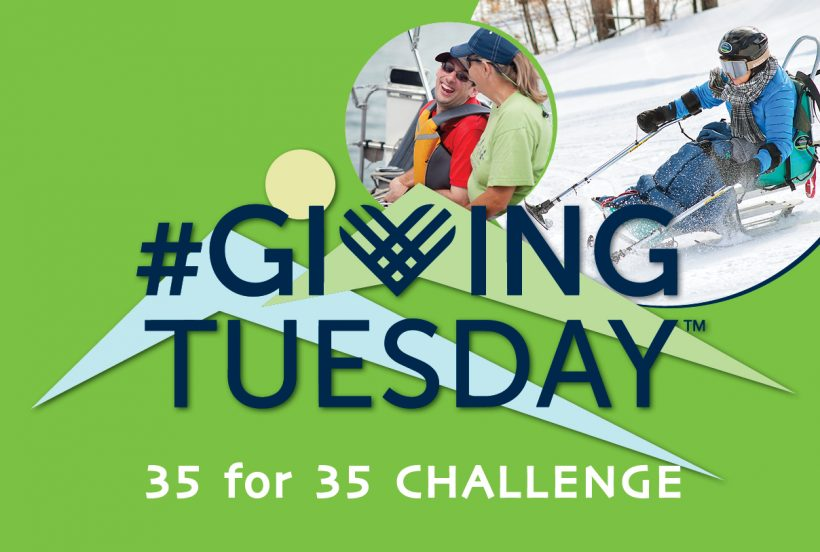 Giving Tuesday Goal: 35 for 35