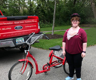 Summertime Adaptive Biking, Socially Distanced