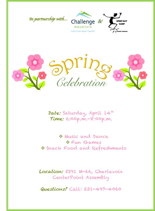 Spring Celebration @ CenterPoint Assembly